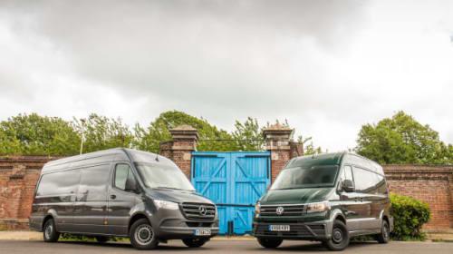 Twin test: Mercedes-Benz Sprinter v Volkswagen Crafter