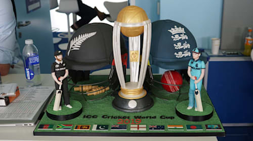 Duchess of Cornwall sends cake to Test Match Special team for World Cup final