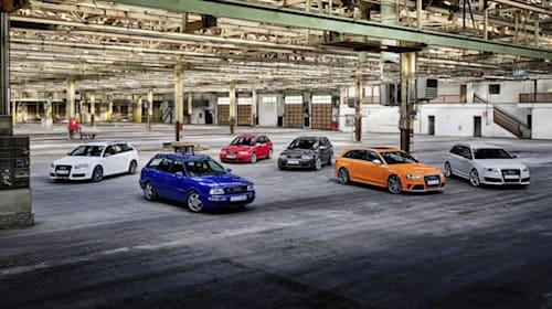 """Two """"completely new"""" Audi RS models due before the end of the year"""