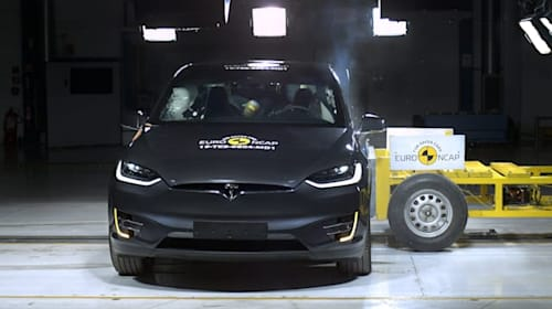 Electric cars come out on top in latest Euro NCAP testing