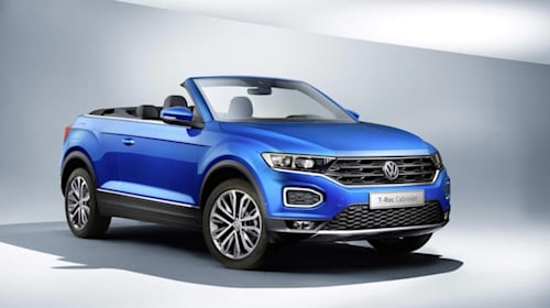 New Volkswagen T-Roc Cabriolet enters production