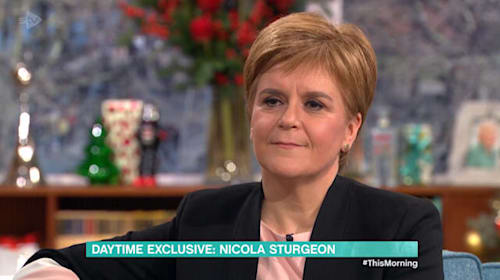 SNP-backed Labour Government better option than Tories, Sturgeon tells voters