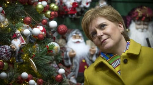 Sturgeon treads familiar path with third UK election in five years as SNP leader