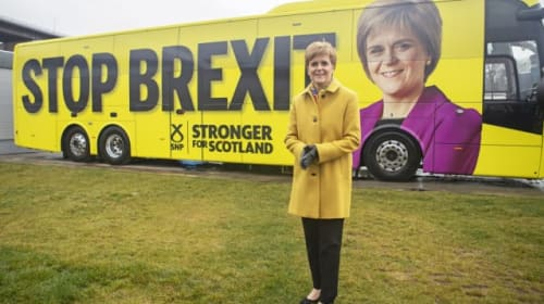 SNP campaign focused on key constitutional issues of Brexit and independence