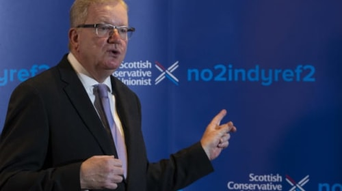 Halting demands for indyref2 once again at the heart of Scottish Tory campaign