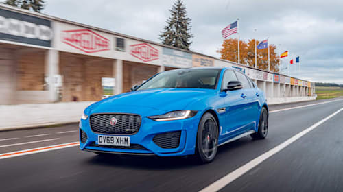 Jaguar reveals motorsport-inspired XE Reims Edition