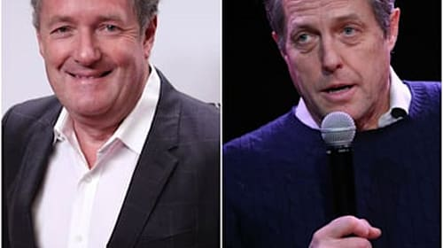 Piers Morgan taunts Hugh Grant and Steve Coogan over Conservative win