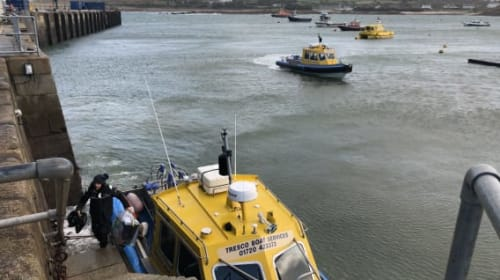 The wait is nearly over: Votes arrive by boat for final election constituency