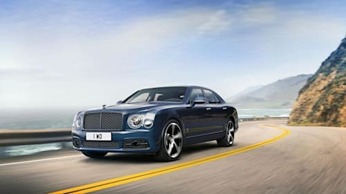 Bentley bids farewell to Mulsanne with final '6.75 Edition'