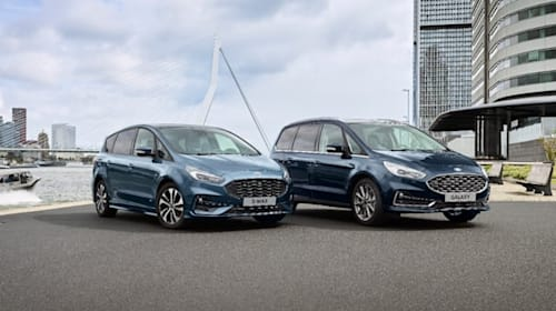 Ford adds hybrid powertrain to S-Max and Galaxy models