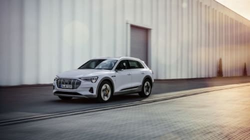 Audi introduces new entry-level trim for all-electric e-tron SUV