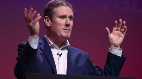 Keir Starmer refuses to commit to having leadership opponents on shadow cabinet