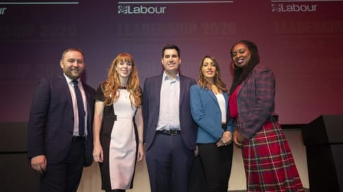 Angela Rayner will 'live in Scotland' to help Labour win 2021 Holyrood election