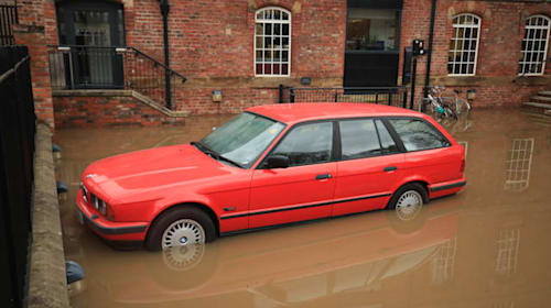 My car has flooded, what should I do?