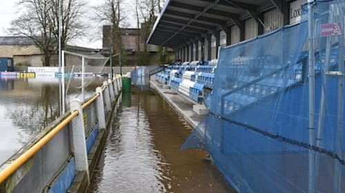Flooded non-league football side in plea for big clubs' help with repair bills