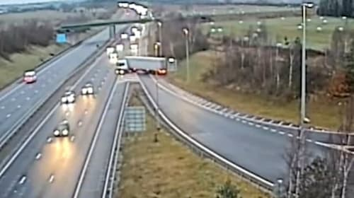Lorry driver jailed after doing motorway U-turn