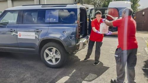 Jaguar Land Rover deploys 150 additional vehicles to support global coronavirus response effort