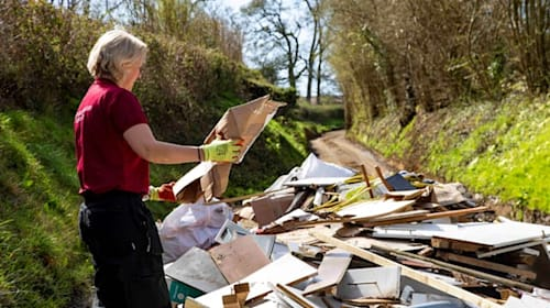 Council sees upsurge in fly-tipping since Covid-19 lockdown