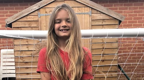 Boy inspired by Gareth Bale's long hair will have first ever cut for charity