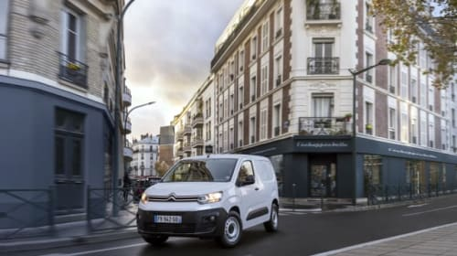 Citroen electrifies Berlingo line-up with new battery-powered model