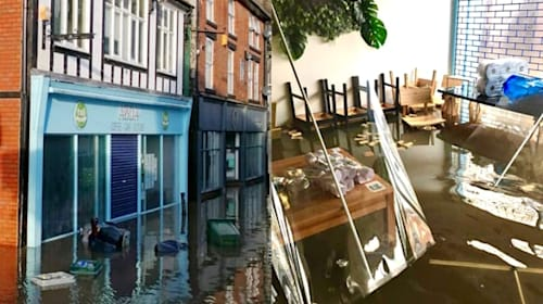 Customers rally for coffee shop 'completely destroyed' by flooding