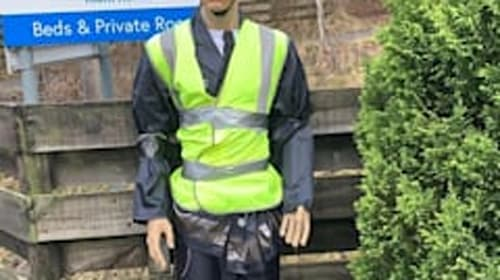 Appeal after road safety police officer mannequin 'kidnapped' from his post