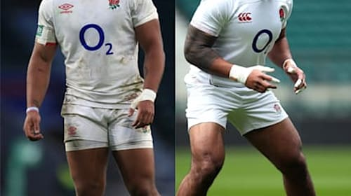 England centre Ollie Lawrence flattered by Manu Tuilagi comparisons