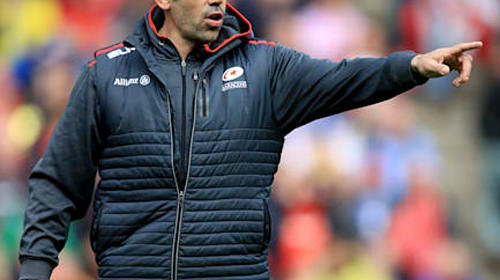 Alex Sanderson leaves Saracens to become Sale's new director of rugby