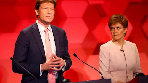 Nicola Sturgeon clashes with Brexit Party's Richard Tice in election debate