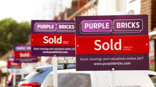 Purplebricks profit plunges as homeowners sit on their houses