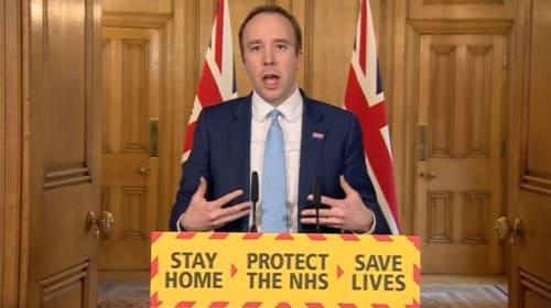 Health Secretary describes 'pretty unpleasant' experience of having Covid-19