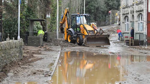 Flood warnings to continue after Storm Dennis passes