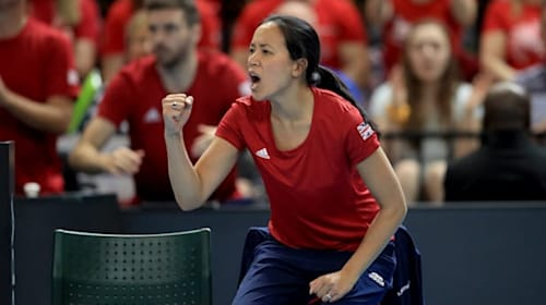 Great Britain handed trip to Mexico in Fed Cup play-offs