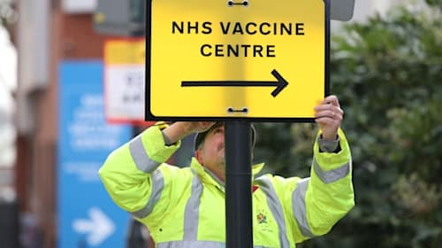 Crucial vaccine workers moved up priority list for jab
