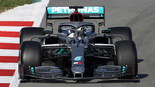 Mercedes have created innovative steering wheel for new season
