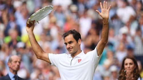 Swiss misses Wimbledon but urges support for frontline workers