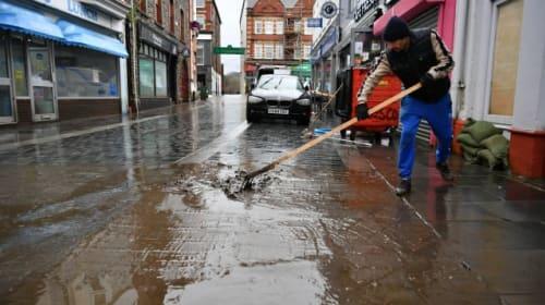 Plaid leader criticises Welsh Government over flood defences
