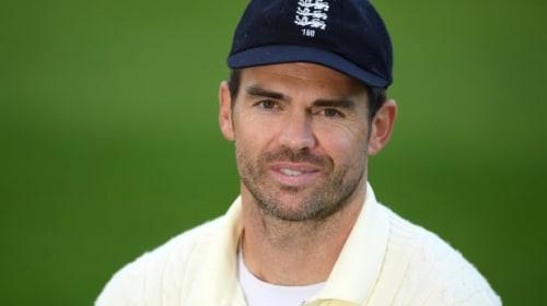 James Anderson reveals nerves on Test return