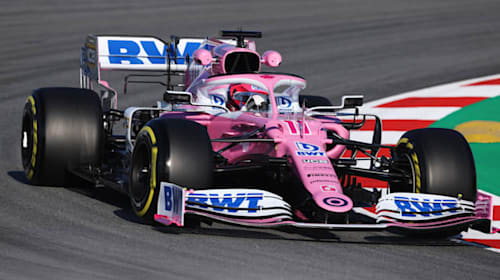 Perez sets the pace as Racing Point continue strong start