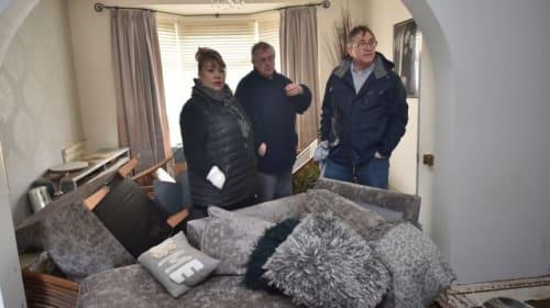 Mark Drakeford defends investment into flood defences in Wales