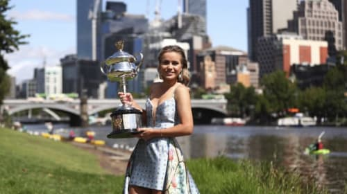 Kenin inspired by Osaka and Andreescu to chase grand slam glory