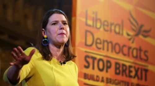 Jo Swinson: Lib Dem Brexit policy to revoke Article 50 is popular