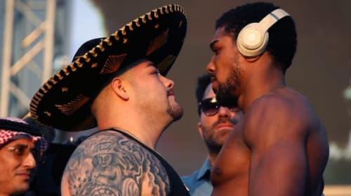 Joshua says 20-stone Ruiz should fight at super-heavyweight