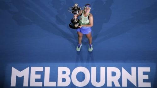 Sofia Kenin talks up her performance in the Australian Open final