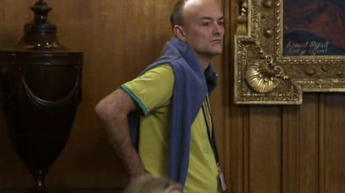 PM's chief aide Dominic Cummings self-isolating with coronavirus symptoms