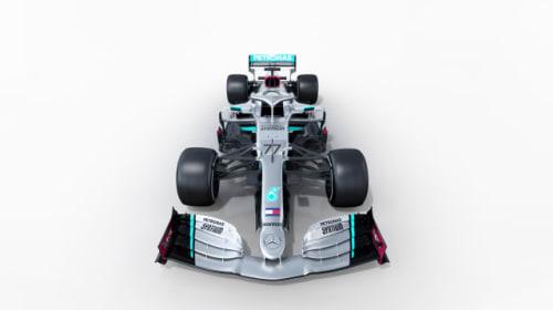 Lewis Hamilton's Mercedes team unveil new car