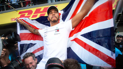 UK 'should be proud to have a champion and ambassador like Sir Lewis Hamilton'