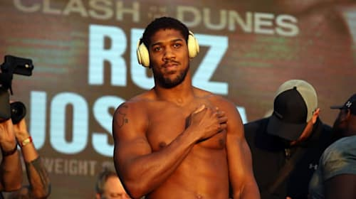 Anthony Joshua 'grateful for having a second opportunity' against Andy Ruiz Jr