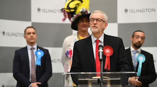 Corbyn under fire after Labour's 'red wall' crumbles