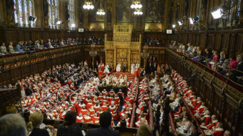 Government suffers three defeats on Boris Johnson's Brexit deal